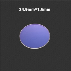 Laser cutting protect lens 24.9*1.5 mm