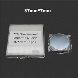 Laser cutting protect lens 37*7mm