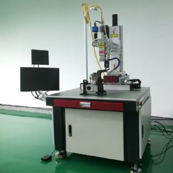 Four-axis plane welding machine