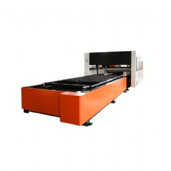 3015/4020 Precitec Laser Head Dual Work-bed Cutting Machine